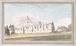 South View of Bearpark, near Durham 1783